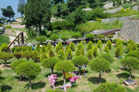 공원묘지 수목장 by 하늘세상