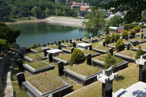공원묘지 by 하늘세상